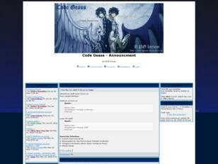RPG Forum based from Code Geass