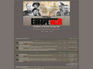 Forum gratis : Company of Heroes: Europe War
