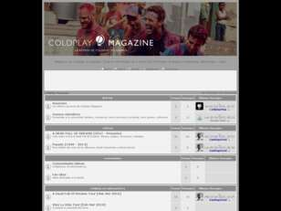 Coldplay Magazine Foro
