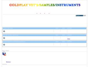 COLDPLAY VSTS/SAMPLES/INSTRUMENTS