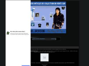 Vente Collection Privee Michael Jackson