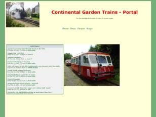 Free forum : Continental garden scale trains