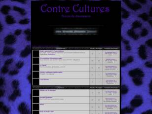 Contre Cultures : forum de discussion