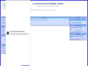 Le Forum de CO Pace Football