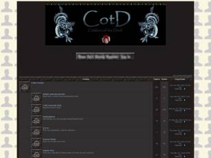 Forum gratuit : CotD Forums