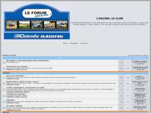 C.RACING, le forum detente!