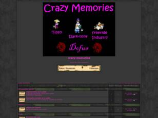 creer un forum : crazy-memories