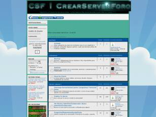 CSF | CrearServerForo
