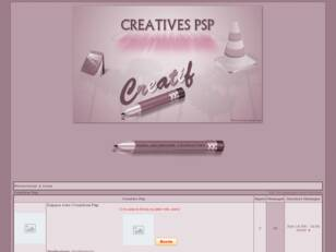 creer un forum : Creatives Psp