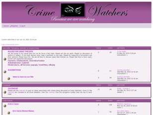 free forum : CrimeWatchers