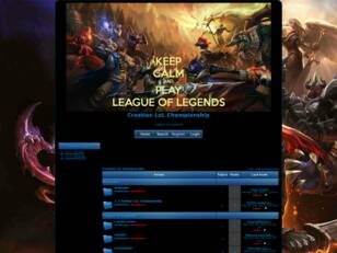 Free forum : Croatian LoL Championship