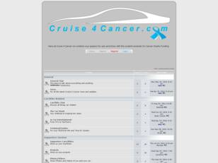 Free forum : Cruise 4 Cancer