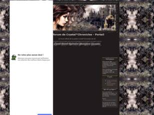 creer un forum : le forum de Crystal*Chronicles