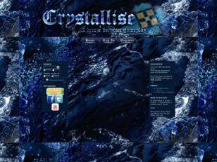 Crystallise's Official Site