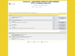 Forum gratis : Crystal Sun Linkshell :: HAS MOVED!