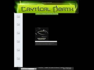 Comunidad Crytical Death