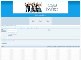 CSB l'After
