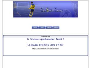 COSNE D'ALLIER -SECTION FOOTBALL