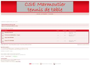 Forum CSE Marmoutier