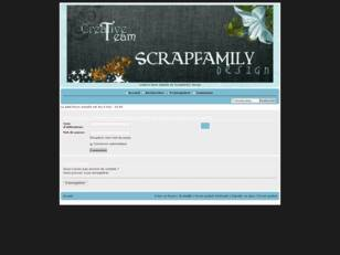 creer un forum : CT Scrapfamily