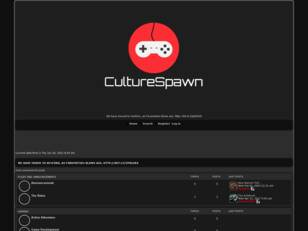 Free forum : CultureSpawn