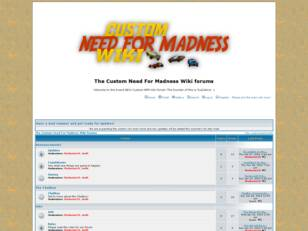 Custom Need For Madness Wiki Forums