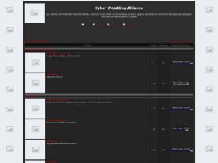 Forum gratuit : Cyber Wrestling Alliance