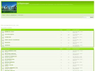 Foro gratis : cyclingmanager
