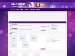 Daily Support™! Support Tutorials Forumotion Support Codes Design Help