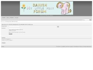 Danish My Little Pony Forum