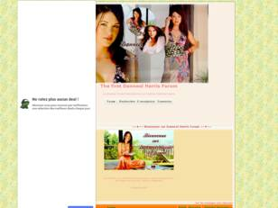 The first Danneel Harris Forum