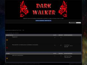 Forumactif.com : Forum Team DarkWalkers