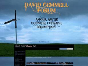 David Gemmell Forum !