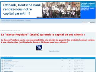 DeCiBel - Collectif DEUTSCHE BANK - CITIBANK