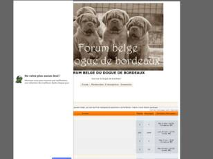 creer un forum : Club belge du dogue