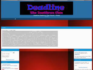 Deadlines Deathrun Clan Forum
