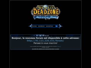 Serveur World of Warcraft 3.1.2