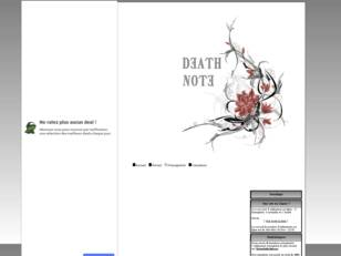 Site de l'alliance -Death Note-