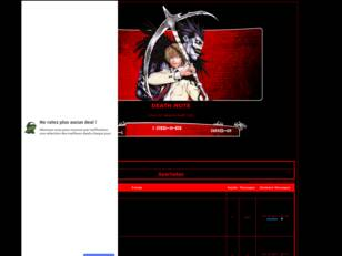 creer un forum : DEATH NOTE