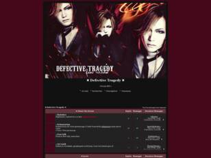 creer un forum : ✖ Defective Tragedy ✖