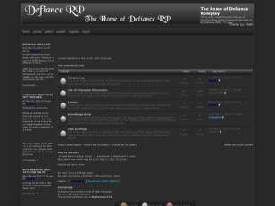 Free forum : The home of Defiance Roleplay