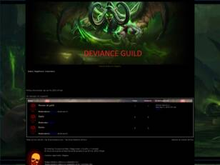 DEVIANCE GUILD WOW