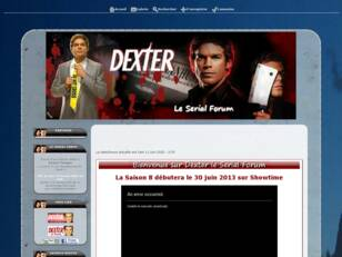 Dexter le Serial Forum