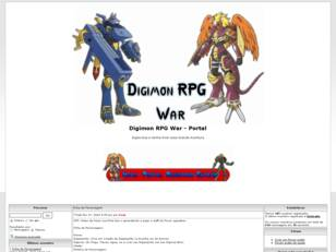Digimon RPG War ll Digievolua e Divirta-se ll v.1