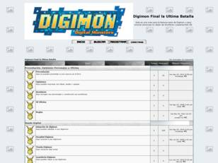 Foro gratis : Digimon Final la Ultima Batalla
