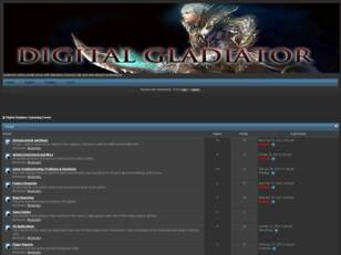 Digital Gladiator Gamming Forum