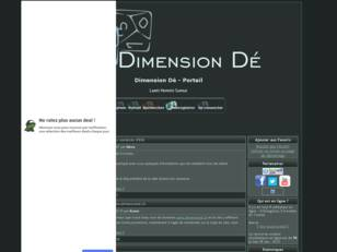 Association de jeu de rôle Dimension Dé