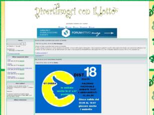 Forum gratis : divertiamoci con il lotto
