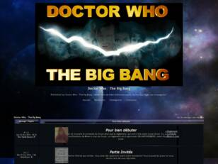 Doctor Who : The Big Bang