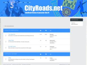City Roads | Lancaster City FC Fans Forum